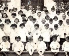 1940 scuola materna a Vezzano sul Crostolo