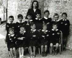 1966 Montalto scuola classe elementare