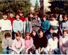 1984 terza media vezzano sezione B