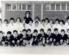 1974 seconda elementare vezzano