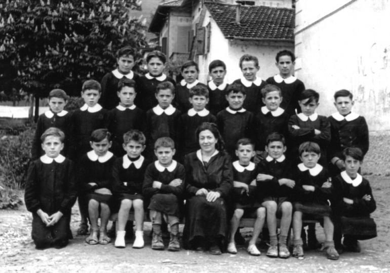 1951 classe elementare vezzano