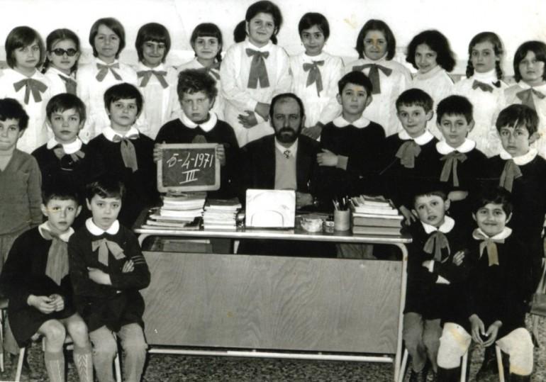 1970 terza elementare vezzano