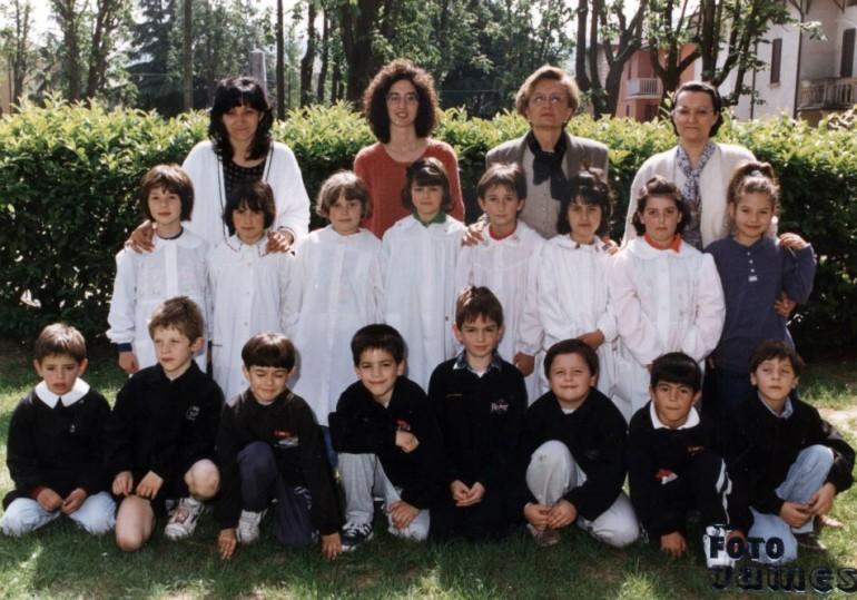 1996 prima elementare vezzano
