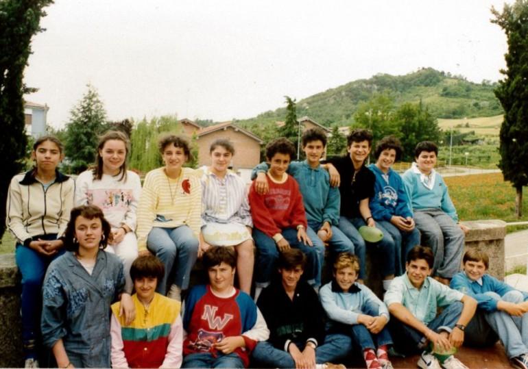 1986 seconda media a vezzano