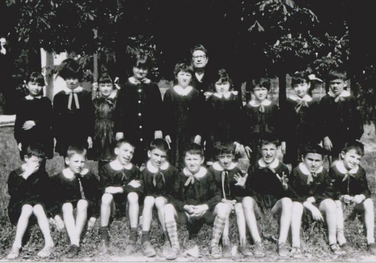 1961 seconda elementare vezzano