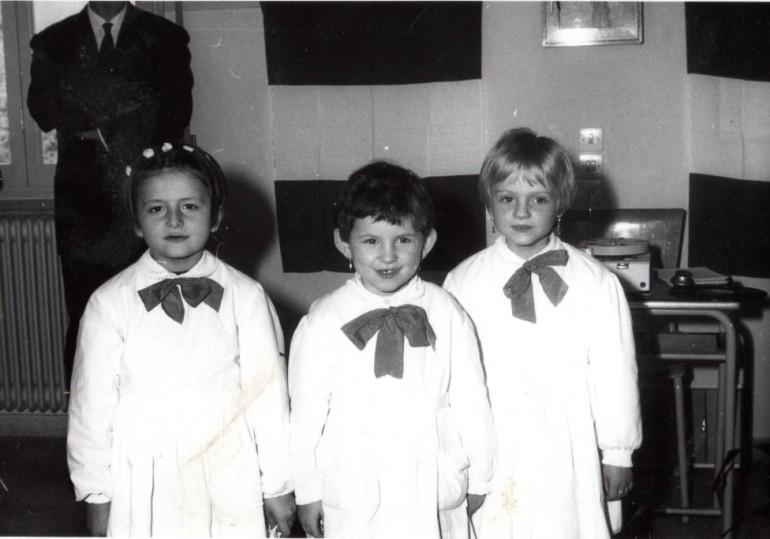 1966 prima elementare a Vezzano