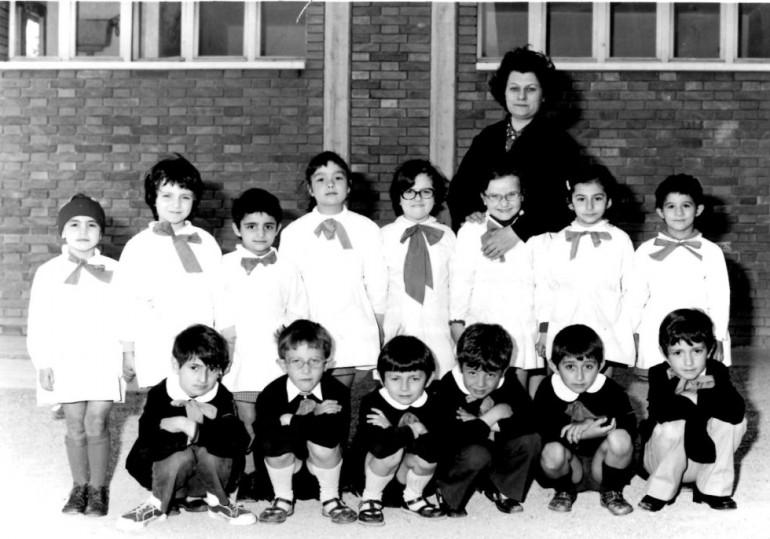 1972 prima b elementare vezzano