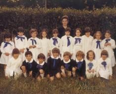 1981 prima elementare vezzano
