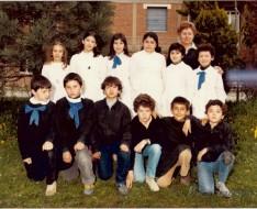 1981 quinta elementare vezzano