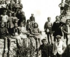 1940 elementari vezzano gita canossa