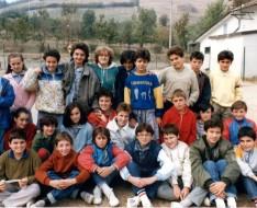 1985 seconda media sezione A vezzano