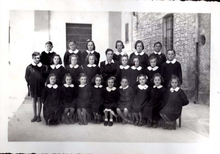 1950 quarta elementare vezzano
