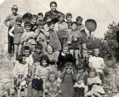 1955 elementari montalto gita classe