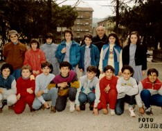 1986 seconda media vezzano