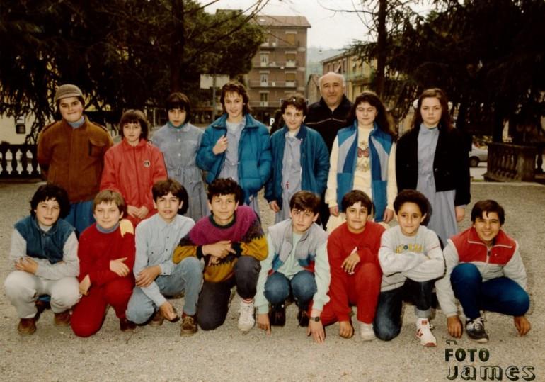1986 seconda media vezzano
