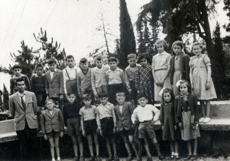 1950 elementari lavecchia gita lago