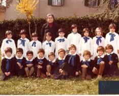 1980 seconda elementare vezzano