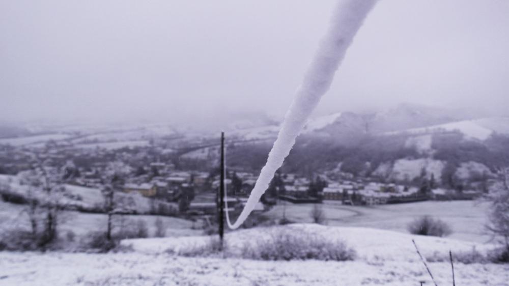 filo di neve