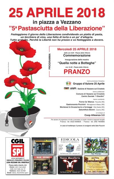 25 aprile liberazione 2018 a Vezzano